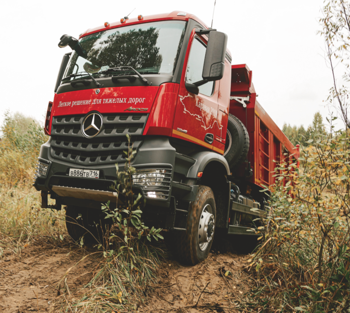Караван от Mercedes-Benz Trucks