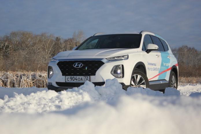 Hyundai Santa Fe поколение динамичных
